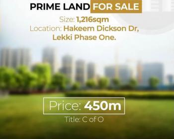 1216sqm Land, Lekki Phase 1, Lekki, Lagos, Residential Land for Sale