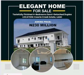 House, Cowrie Creek Estate, Ikate, Lekki, Lagos, Semi-detached Duplex for Sale