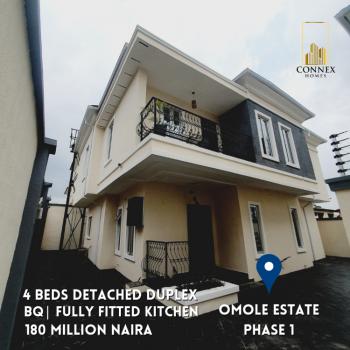 Luxury 4 Bedrooms Detached Duplex, Omole Phase 1, Ikeja, Lagos, Detached Duplex for Sale