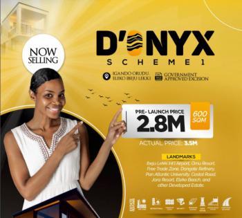 Located Amidst Major Development Is a One-in-a Million State, Igando Orudu, Eleko, Ibeju Lekki, Lagos, Land for Sale