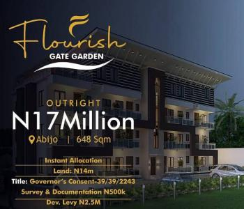 You Enjoy a Great Amount of Peace When You Own a Piece of Land Here!, Abijo, Lekki, Lagos, Residential Land for Sale