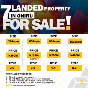 Super Sweet Land, Victoria Island, Oniru, Victoria Island (vi), Lagos, Mixed-use Land for Sale