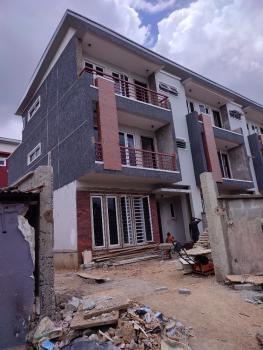 Newly Built 4 Bedroom Terrace Duplex with Bq, Self Compound, Adeniyi Jones, Ikeja, Lagos, Terraced Duplex for Sale