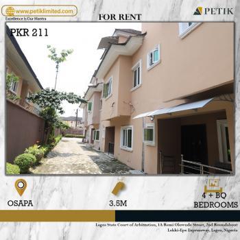 4 Bedrooms, Osapa, Lekki, Lagos, Terraced Duplex for Rent