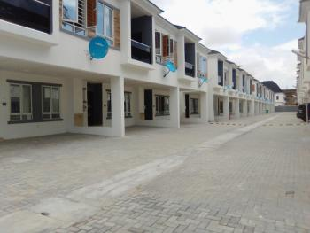 Newly Built 4 Bedroom Terrace Duplex with S/pool, Basketball, a Well Secured Estate, Orchid Road, Lekki Phase 2, Lekki, Lagos, Terraced Duplex for Sale