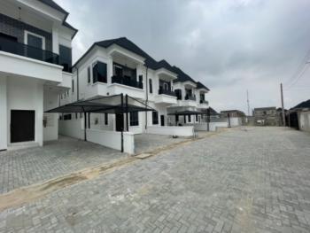 Luxury 4 Bedroom Semidetached with Bq, Beside Pinnock Beach Estate, Osapa, Lekki, Lagos, Semi-detached Duplex for Rent
