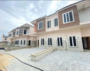 Exquisite 3 Bedroom Terrace with Bq, Off Orchid Hotel Road, Lafiaji, Lekki, Lagos, Terraced Duplex for Sale
