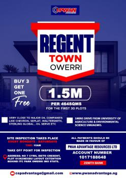 Land, Regent Town, Owerri West, Imo, Residential Land for Sale