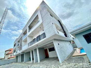 Well Finished Fully Serviced 5 Bedroom Terrace Duplex with a Room Bq, Lekki Phase 1, Lekki, Lagos, Terraced Duplex for Sale