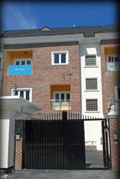Luxury 4 Bedroom Terrance, Osapa London, Osapa, Lekki, Lagos, Terraced Duplex for Sale