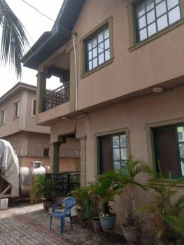 Four Bedroom Duplex with a Room Bq, Security Post and Gen House, Labak Estate, New Oko-oba, Agege, Lagos, Detached Duplex for Sale