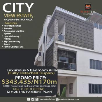 6 Bedroom Duplex, City View Estate, Gudu, Abuja, House for Sale