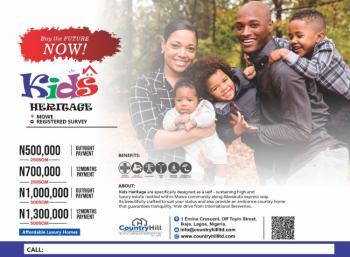 Kids Heritage, Feere a Min Drive From International Brewery, Mowe Ofada, Ogun, Residential Land for Sale