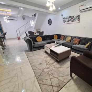 Premium 4 Bedrooms Duplex, Dideolu Estate, Oniru, Victoria Island (vi), Lagos, Semi-detached Duplex Short Let