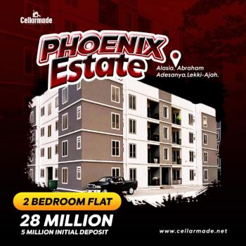 Luxury 2 Bedroom Apartment in a Well Secured Estate, Opposite Lekki Gardens, Alasia, Ajah, Lagos, Block of Flats for Sale