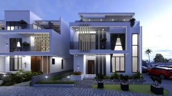 Luxury Service 4 Bedrooms Terraced Duplex with a Servant Quarter, Diplomatic Zone, Katampe Extension, Katampe, Abuja, Terraced Duplex for Sale