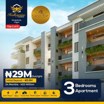 Luxury Finished 3 Bedroom Apartment with 24months Payment Plan, Crown Estate, Emperor Estate, Novare Mall, Genesis Cinema, Sangotedo, Ajah, Lagos, Block of Flats for Sale