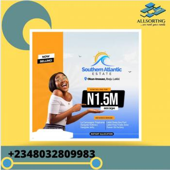 Cheap Land with Instant Allocation, Southern Atlantic Estate, Ibeju Lekki, Lagos, Mixed-use Land for Sale