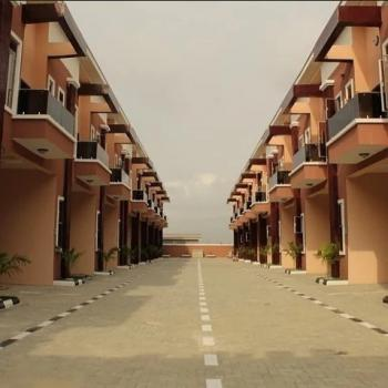 Fully Serviced 4 Bedrooms Terraced Duplex, By Orchid, Chevron Area, 2nd Tollgate, Ikota, Lekki, Lagos, Terraced Duplex for Rent