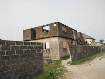 Massive Distress of Carcass of Duplex &  Block of Flats on 998sqm, United Estate, Sangotedo, Ajah, Lagos, Block of Flats for Sale