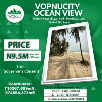 Prime Oceanview Land, Behind Eko Akete, Abijo, Lekki, Lagos, Land for Sale