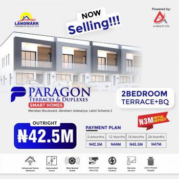 2 Bedroom Terrace, Lekki Phase 2, Lekki, Lagos, Terraced Duplex for Sale