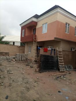 Newly 4 Bedroom Duplex with a Bq, By Deeper Life Church, Ifako, Gbagada, Lagos, Semi-detached Duplex for Sale