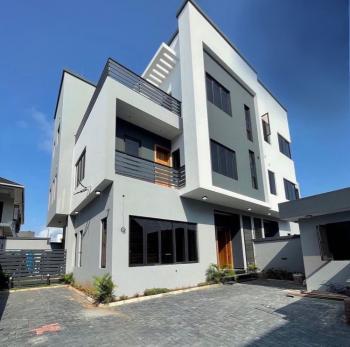 Massive Contemporary 4 Bedrooms Semi Detached Duplex with 1 Room Bq, Lekki Phase 1, Lekki, Lagos, Semi-detached Duplex for Sale