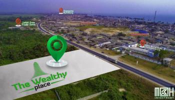 Commercial Plot Facing The Expressway, Orofun, Ibeju Lekki, Lagos, Commercial Land for Sale