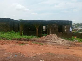 an Uncompleted Building  on Half Plot Available, Igberen Off Honda Bus Stop, Ado-odo/ota, Ogun, Residential Land for Sale