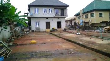 Land with 2nos of 2 Bedroom Flat, Ago Palace, Isolo, Lagos, Block of Flats for Sale