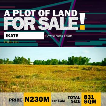 Fenced Land Deal, Cowrie Creek, Ikate, Lekki, Lagos, Residential Land for Sale