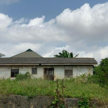 a Full Plot of Land with 3 Bedroom Bungalow Built on The Setback, Close to Abbot Dayspring College, Ipaja, Ayobo, Lagos, Residential Land for Sale