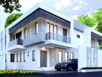 Exquisite 4 Bedroom Semi Detached House with a Room Bq, Ojodu Estate, Ojodu, Lagos, Semi-detached Duplex for Sale