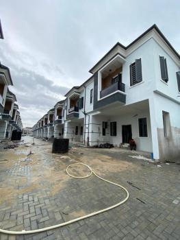 Luxury Newly Built 4 Bedroom Terrace Duplex with Communal Pool & Bq, 2nd Lekki Toll Gate, Lekki, Lagos, Terraced Bungalow for Sale