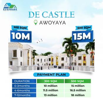 Affordable Govt Approved Gazetted Land in Developed Estate, De Castle Estste, Awoyaya, Ibeju Lekki, Lagos, Mixed-use Land for Sale