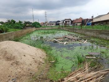 Well Located and Fenced 350sqm Land, Soluyi, Gbagada, Lagos, Residential Land for Sale