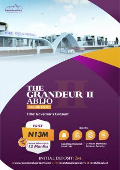 Beautiful Land in a Serene Environment, Abijo, Lekki, Lagos, Residential Land for Sale