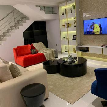 Luxurious 3 Bedroom Duplex with Soccer Table and Swimming Pool, Ikate, Lekki Phase 1, Lekki, Lagos, Terraced Duplex Short Let