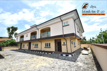 Brand New 3 Units of 3 Bedroom Terrace  Duplex with One Bq Available, Beechwood Estate, Bogije, Ibeju Lekki, Lagos, Flat / Apartment for Rent