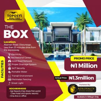 Plots of Land with Registered Survey and Deeds of Assignment, Olorunsogo Less Than 25 Mins From The Expressway, Akanran, Ona Ara, Oyo, Residential Land for Sale
