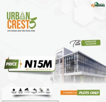 Commercial Plots, Tiye Besides Lekki Free Trade Zone, Ibeju Lekki, Lagos, Commercial Land for Sale