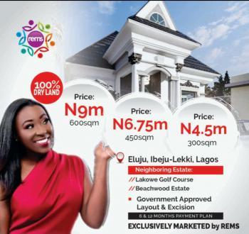 Land, Sandy Spring Estate, Eluju, Ibeju Lekki, Lagos, Residential Land for Sale