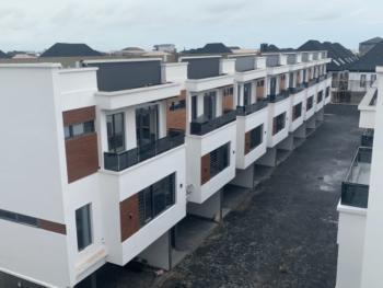 Luxury 16 Units of 4 Bedroom Terrace Houses, Spg, Moses Ebitu Street, Igbo Efon, Lekki, Lagos, Terraced Duplex for Sale