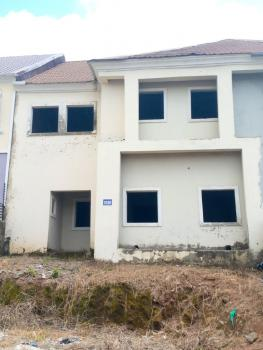 3 Bedroom Terrace Detached Duplex with a Bq, Naf Valley Estate, Asokoro District, Abuja, Terraced Duplex for Sale