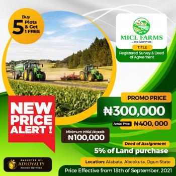 Farm Land, Alabata, Abeokuta South, Ogun, Commercial Land for Sale