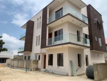 Newly Built 4 Bedroom Terrace Duplex with 1 Room Bq, Behind Petrocam Filling Station, Lekki Phase 1, Lekki, Lagos, Terraced Duplex for Rent