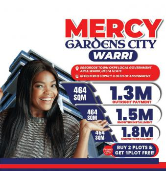 Land, Mercy Gardens City, Egborode Town, Okpe, Delta, Mixed-use Land for Sale