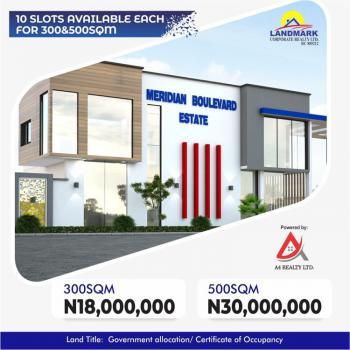 Residential Plot, Meridian Boulevard Estate, Okun-ajah, Ajah, Lagos, Residential Land for Sale