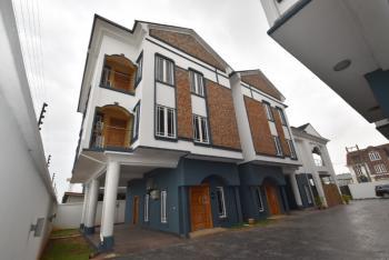 Luxury 4 Bedroom Town House with 1 Room Bq, Lekki Right, Lekki Phase 1, Lekki, Lagos, Terraced Duplex for Rent